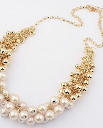 colier perle twist