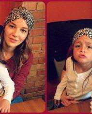 turban copii animal perint