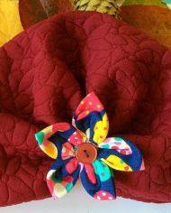 turban cu flori copii