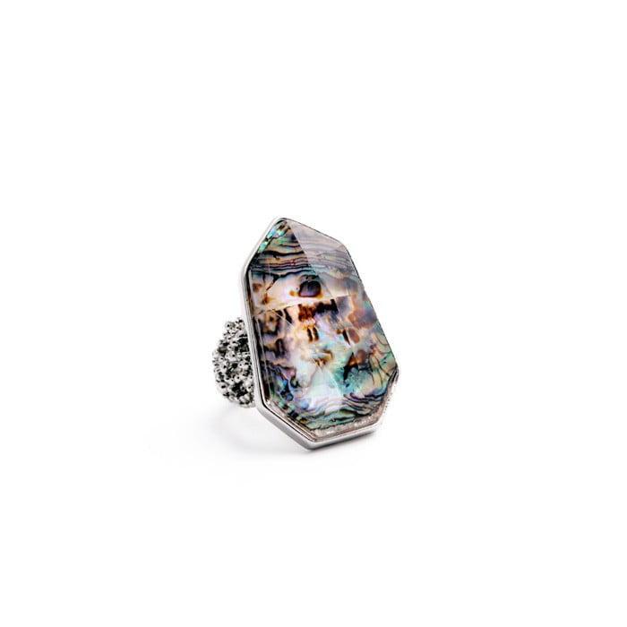 Inel Amo piatră efect