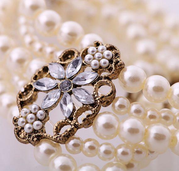 Brățară Xila din perle și cristale