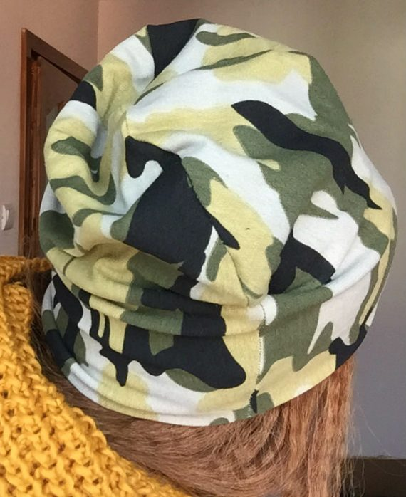 Caciula army din bumbac elastic