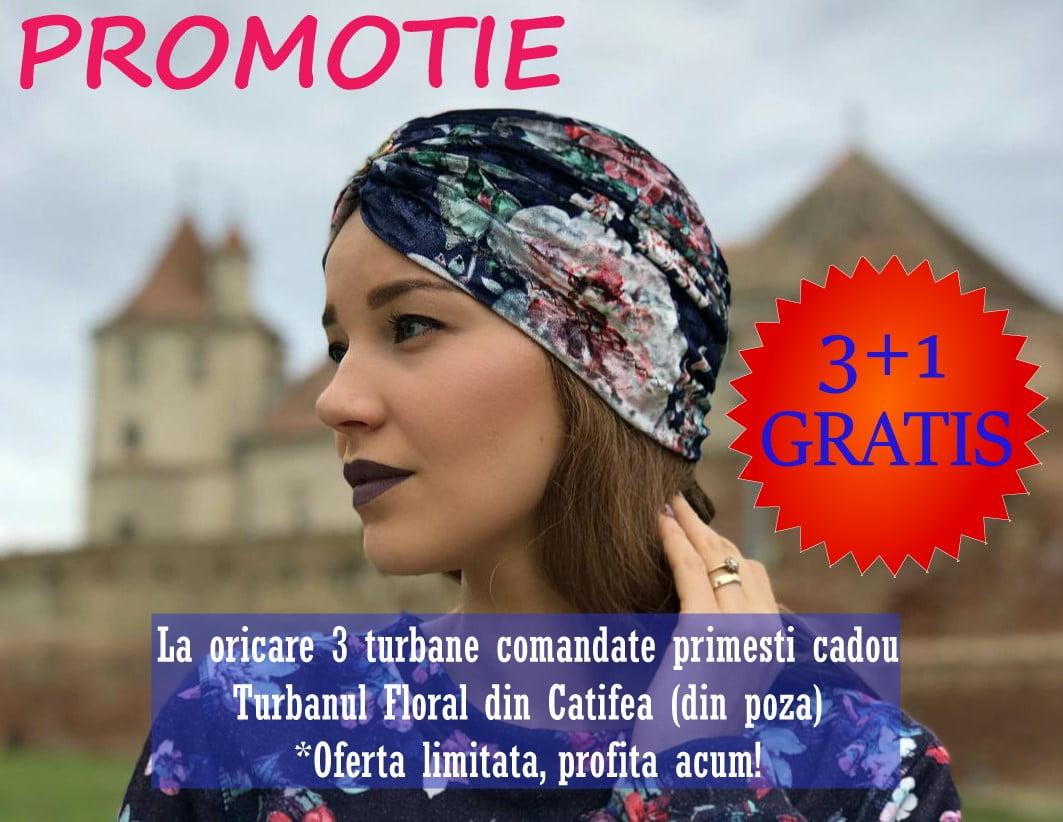 turban catifea 3 plus 1 gratis